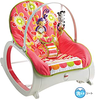 Fisher-Price Infant-to-Toddler Rocker – Floral Confetti