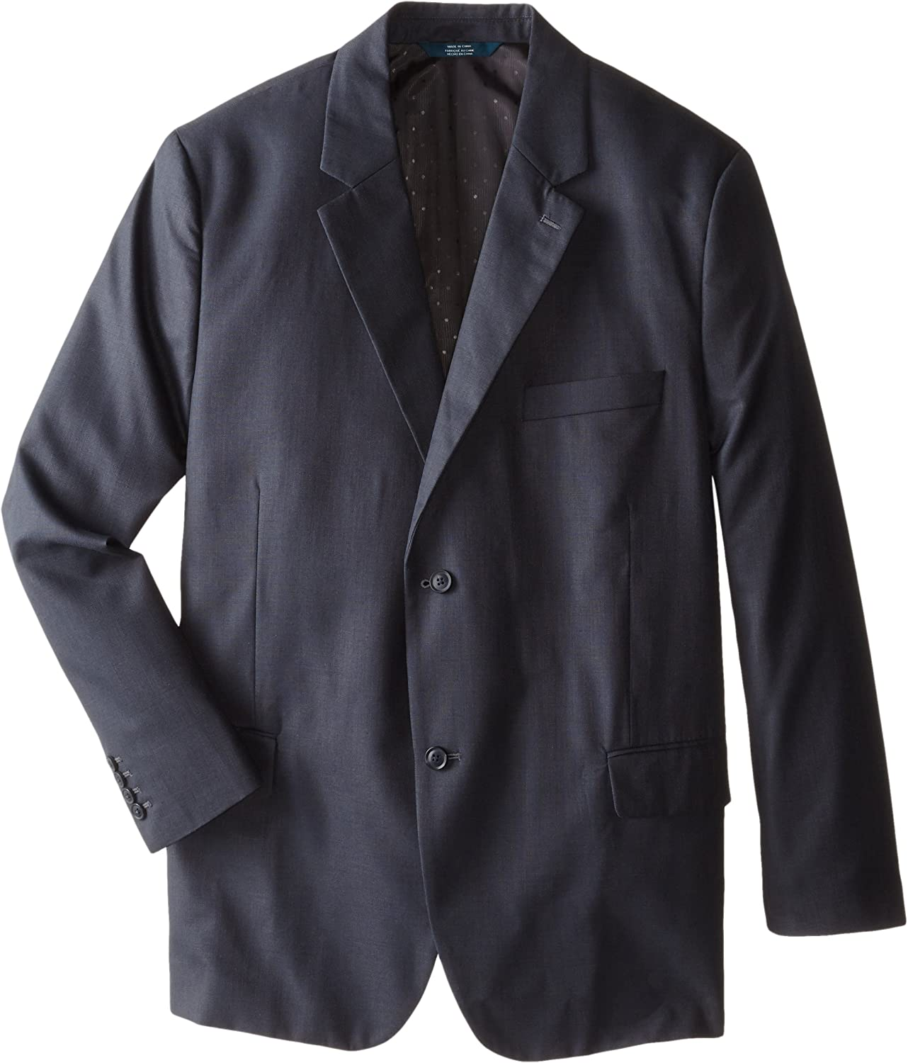 Perry Ellis Men's Big and Tall Textured Fabric Suit Jacket