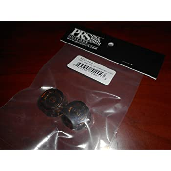 CLEAR//BLACK ACC-4246 NEW Paul Reed Smith Lampshade Guitar Knobs For USA PRS