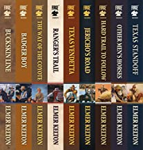 The Complete Texas Rangers Series: Buckskin Line, Badger Boy, The Way of the Coyote, Ranger's Trail, Texas Vendetta, Jeric...
