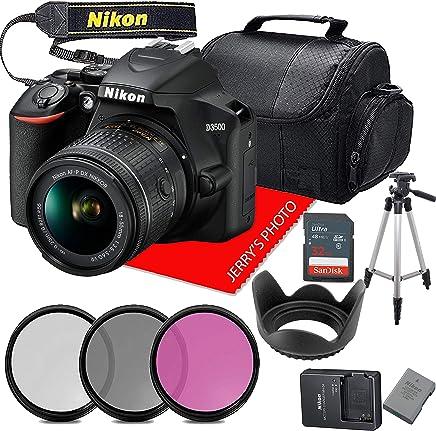 $369 Get Nikon D3500 W/AF-P DX NIKKOR 18-55mm f/3.5-5.6G VR + 32GB Memory + Accessory Bundle