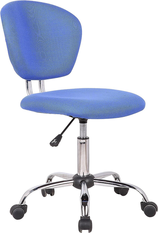Porthos Home Adjustable Joriel Office Chair, bluee