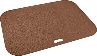 Diversitech Original Grill Mat - BBQ Floor Mat - Put Under Gas Grill, Fryer, Fire Pit - Protects Decks and Patios - 30 x 42 Inches - Rectangle - Brown