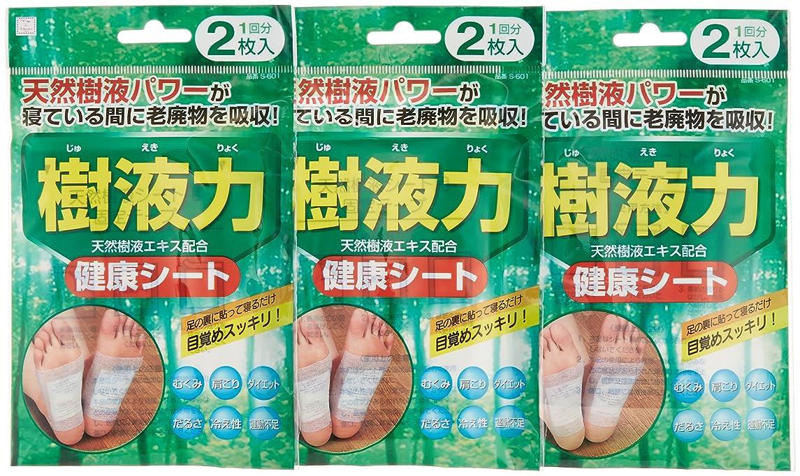 連隊石の小久保 『まとめ買い』 足裏シート 樹液力健康シート 2枚入×3袋セット