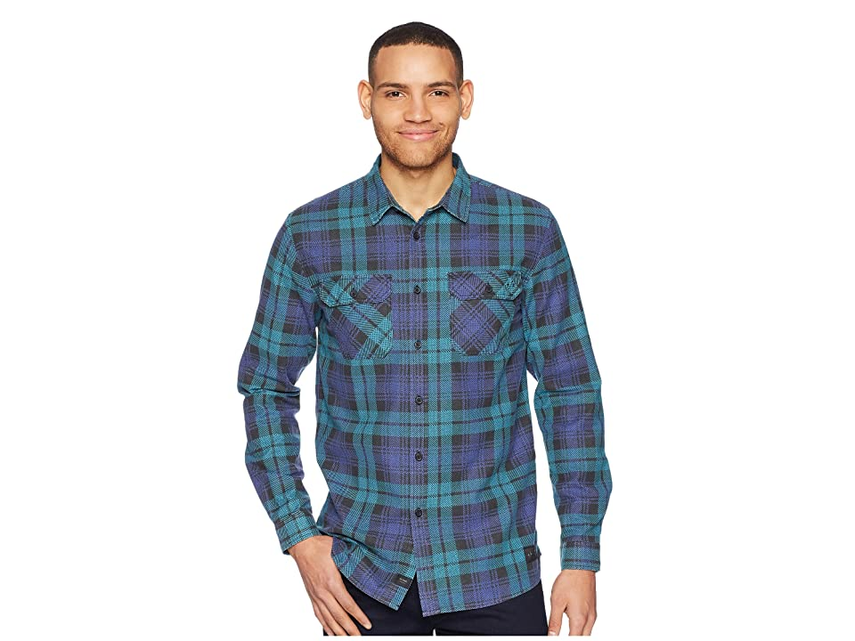 Globe Dion Naples Long Sleeve Shirt (Breeze Green) Men