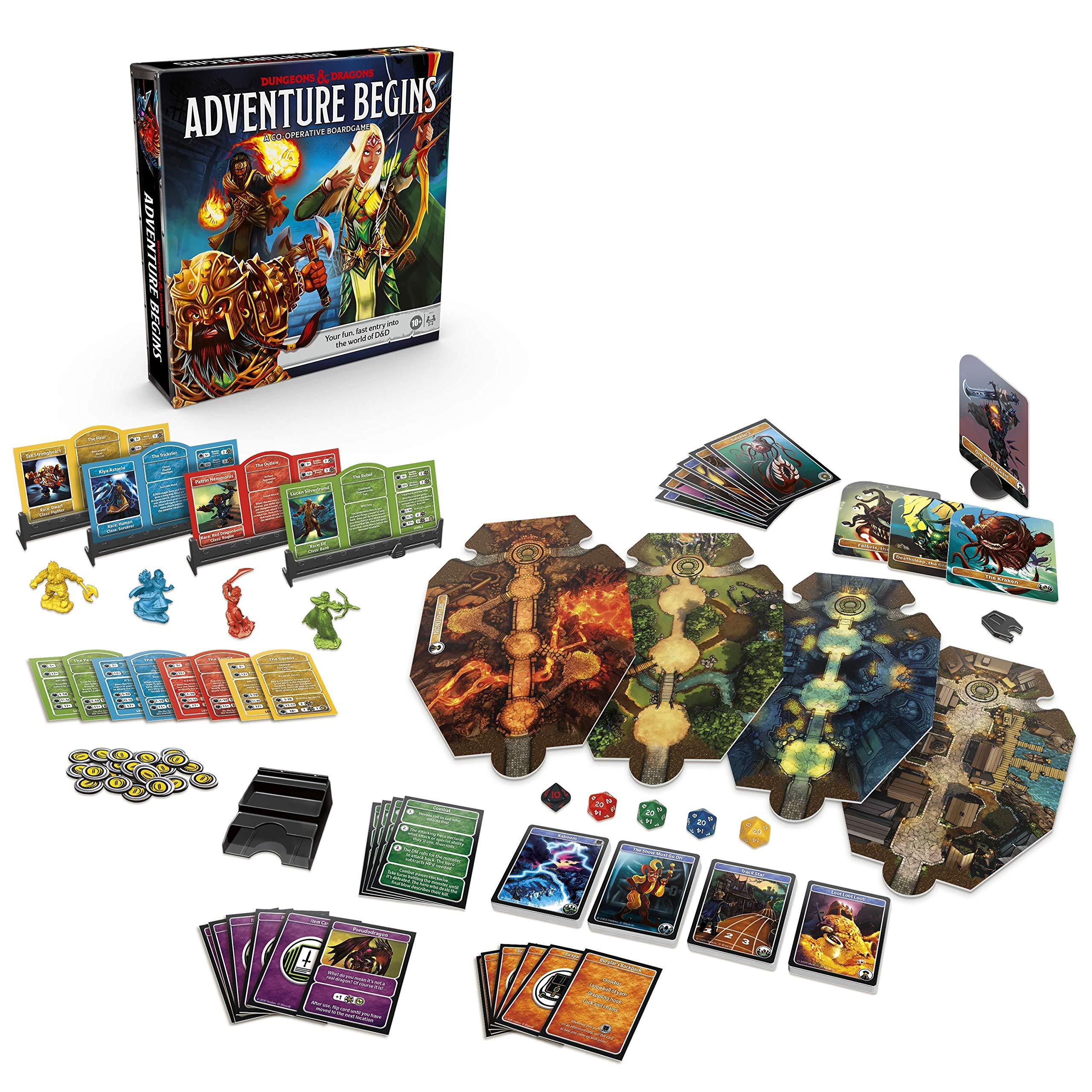 Comienza la Aventura de Mazmorras y Dragones: Amazon.es: Juguetes y juegos