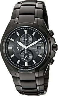 Citizen Mens Eco-Drive Titanium Chronograph Watch with Date, CA0265-59E