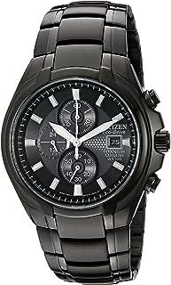 Men's Eco-Drive Titanium Chronograph Watch with Date, CA0265-59E