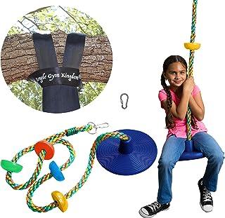 Jungle Gym Kingdom Tree Swing Multicolor Climbing Rope...