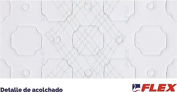 FLEX Colchón muelles continuos Multielastic Visco, 90 x 190 cm