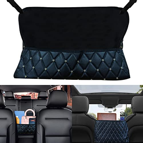 new arrival EcoNour Car Bling Leather Handbag Holder | Car Seat Back Organizer | Purse Holder for Car | Car Handbag Holder | Car outlet sale Interior Accessories | Car Accessories for discount Women | Automotive Consoles & Organizers sale
