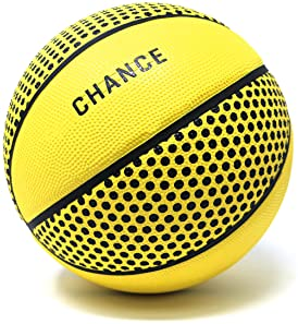 Chance Premium Rubber Outdoor/Indoor Basketball (Size 5 Kids & Youth, 6 WNBA Womens, 7 Mens NCAA & NBA Basketball) (S...