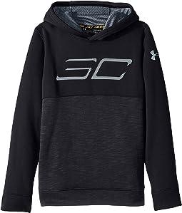 SC30 Fleece Logo Hoodie (Big Kids)