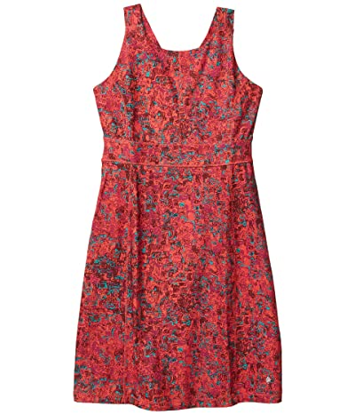 Royal Robbins Jammer Knit Dress (Tigerlily Print) Women