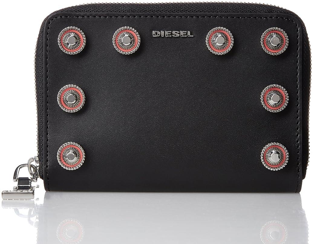 共和党めるご覧ください(ディーゼル) DIESEL レディース ラウンドジップ財布 LE-ZIPPER JADDAA - wallet X04943PR404