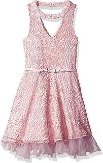فستان متزلج برقبة على شكل حرف V للفتيات من Beautees