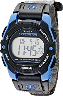 Timex Unisex Expedition Classic Digital Digital Chrono Alarm Timer Watch Me Size Size
