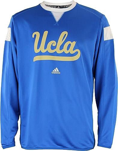 Adidas UCLA Bruins pour Homme Climalite Sideline Crew Pull, Bleu Grande