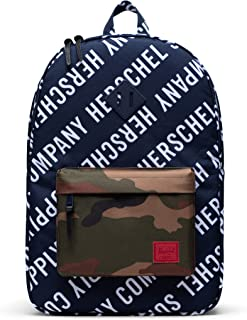 Herschel Heritage Backpack, Roll Call Peacoat/Woodland Camo, Classic 21.5L