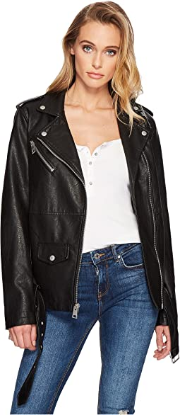 4c2e74b8 Levis faux leather fashion moto jacket w racer collar | Shipped Free ...