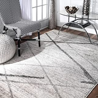 nuLOOM 200BDSM04A-6709 Thigpen Contemporary Area Rug, 6' 7