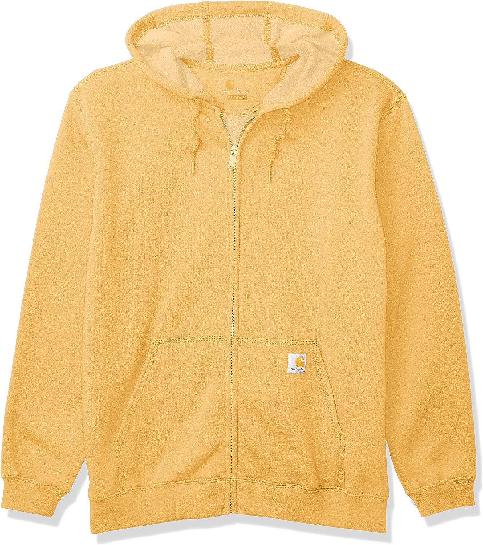 Carhartt In stock Men's Big Tall Midweight Surprise price Zip Hooded Front Sweatshirt