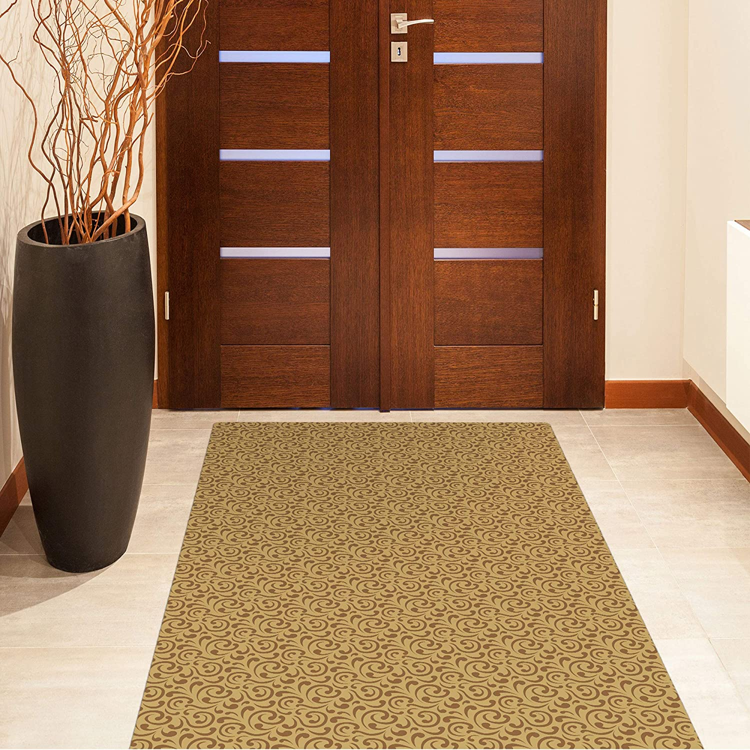Shape28 Hallway New item Mat Ultra-Thin Year-end gift Kitchen with Rug Runner Slip Non