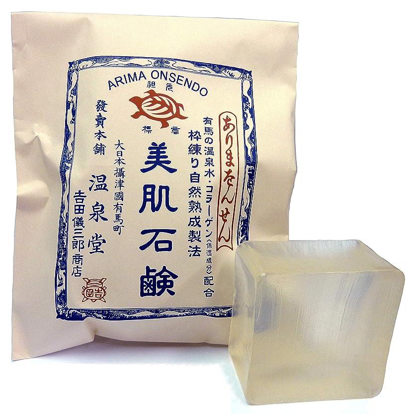ぬるい未払い硫黄カメ印 枠練自然熟成製法 美肌石鹸