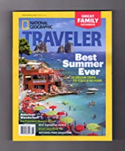 National Geographic Traveler June/July 2017 Best Summer Ever - 25 Dream Trips to Italy & Beyond