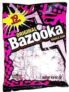 Bazooka Original Bubble Gum, 19 Piece Bag (4 Oz.)