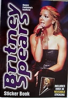 Britney Spears Sticker Book