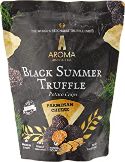 Aroma Truffle Parmesan Cheese Flavour Black Summer Truffle Potato Chips, Parmesan Cheese, 100 g