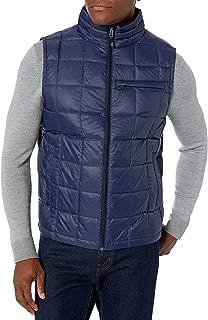 Hawke & Co Men's Box Quilt Packable Down Vest