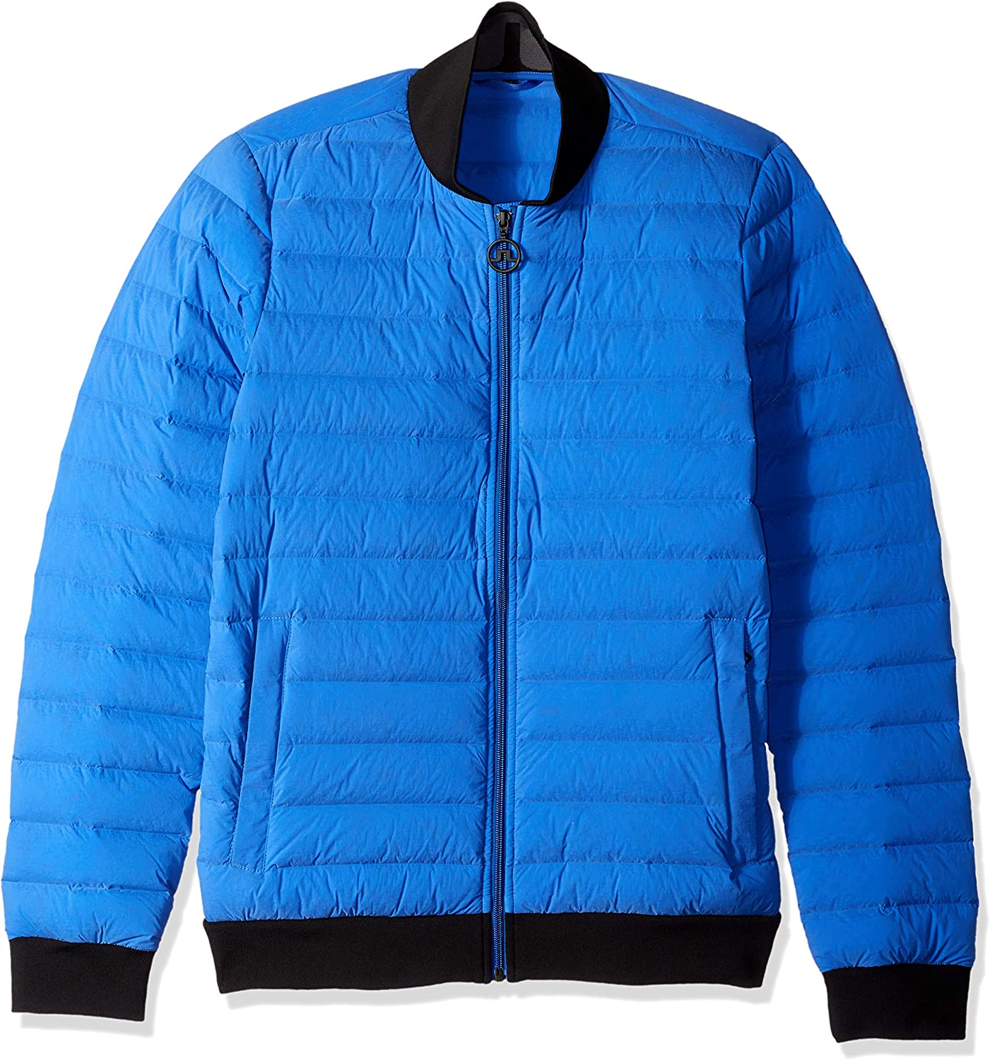 J.Lindeberg Men's Athletic Down Popular brand New Orleans Mall in the world Jacket Bomber