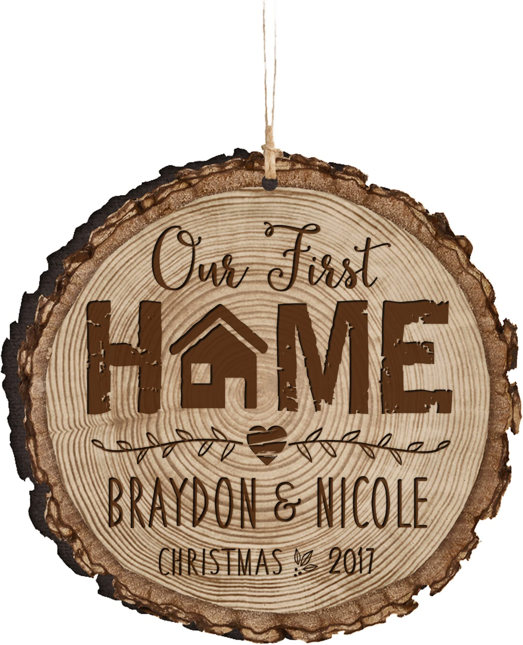 New Home Ornament Christmas Ornament Housewarming Gift Our First Christmas in Our New Home Ornament- personalized gift