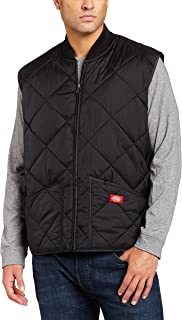 Dickies Men's Diamond Quilted Nylon Vest Big