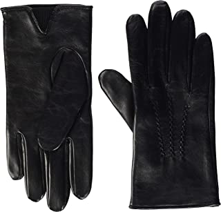 Boss Grifin Leather Mens Gloves Black