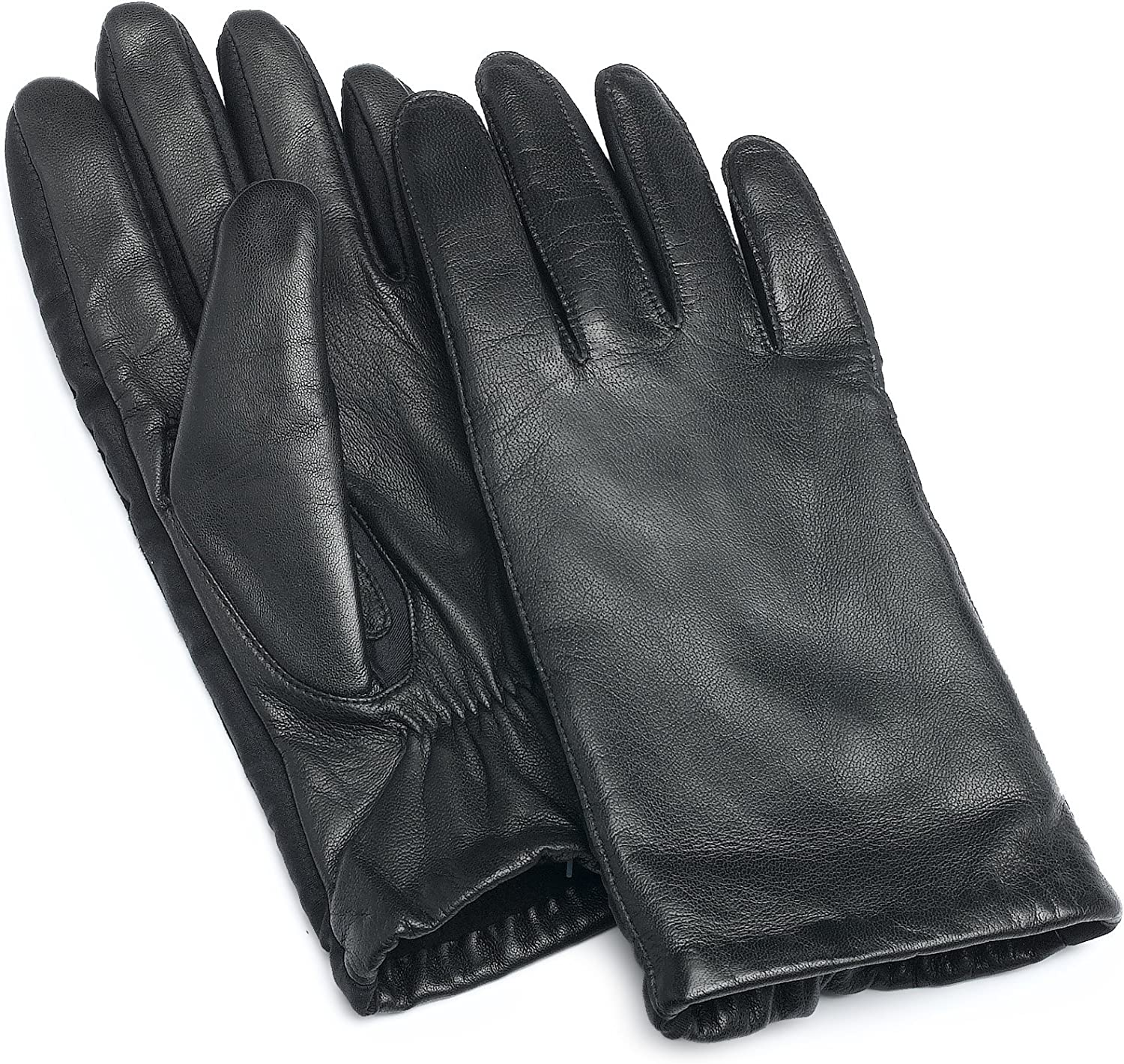 Isotoner Women's Stretch Leather 2.5 Button Glove