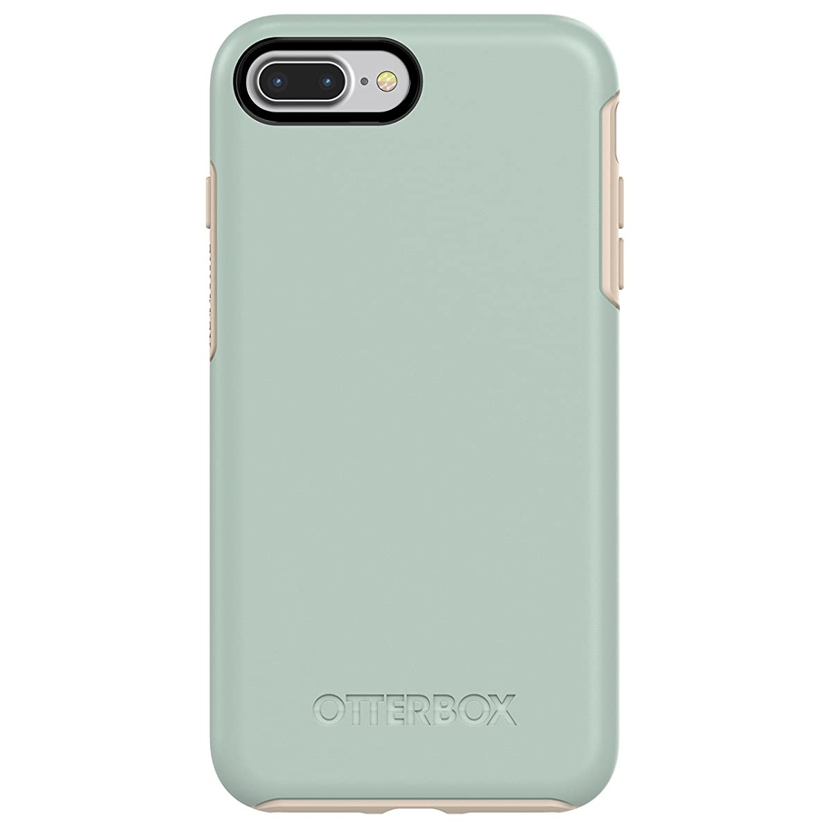 OtterBox SYMMETRY SERIES Case for  iPhone 8 Plus & iPhone 7 Plus (ONLY) - Retail Packaging - MUTED WATERS (SURF SPRAY/SILVER LINING)