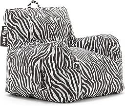 Big Joe Dorm Bean Bag Chair, Zebra
