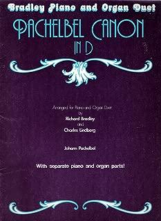 Pachelbel Canon in D (Bradley Piano and Organ Duet, B40M03)