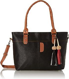 Envias Women's Handbag (EVS-070_Black)