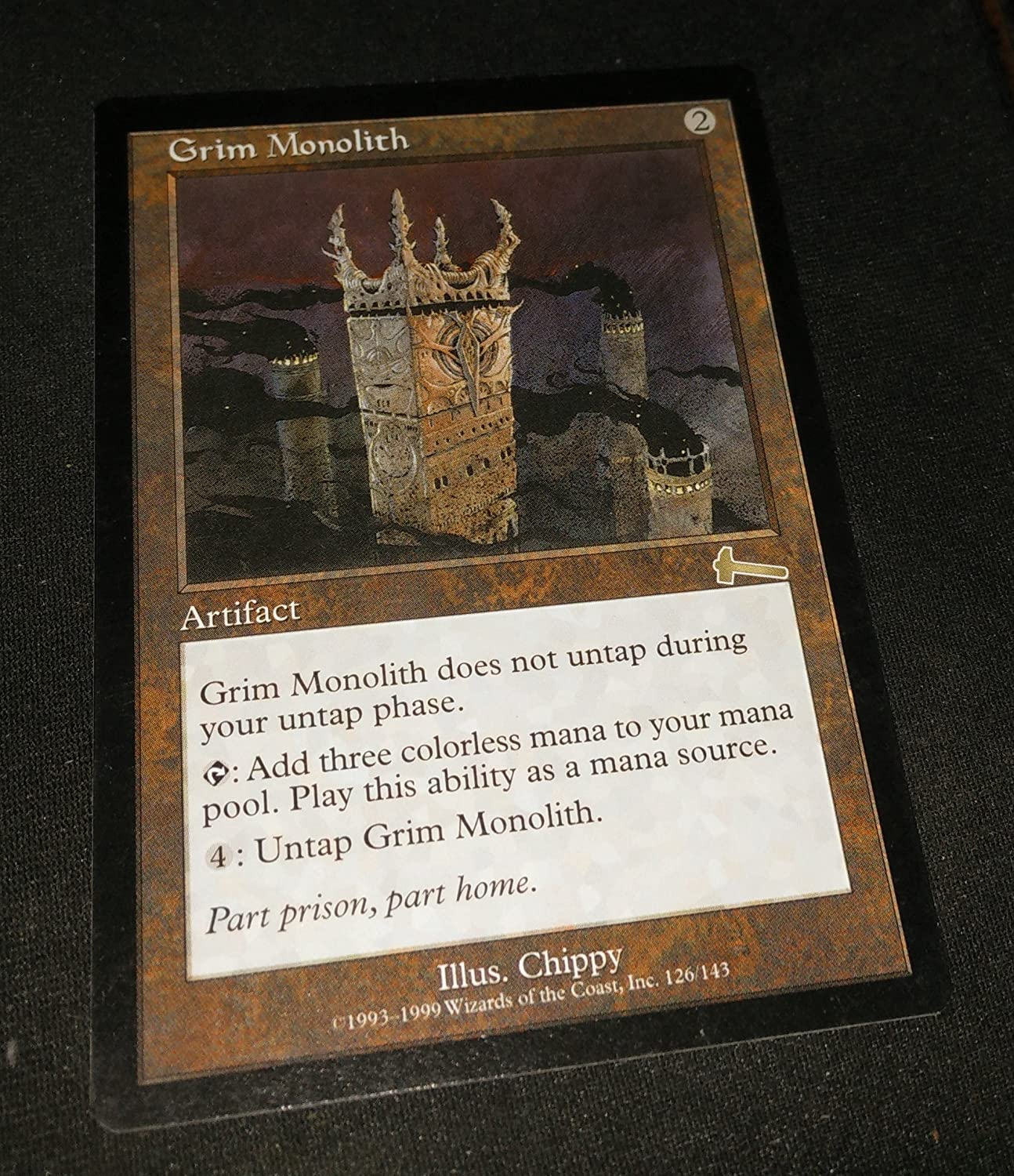 Magic: the Max 52% OFF Gathering - Legacy Urza's Grim Monolith Popular shop is lowest price challenge