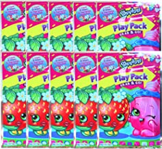 Shopkins Play Pack Grab & Go Children's Party Favor Bundle Edition Pack of 10