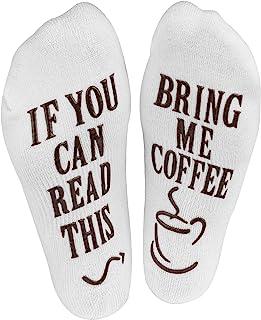 Haute Soiree algodón tráeme café Calcetines