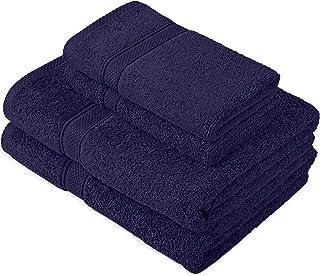 Pinzon by Amazon - Juego de toallas de algodón egipcio (2