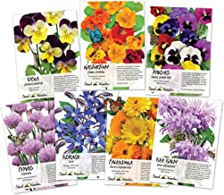 Best edible flower seeds Reviews