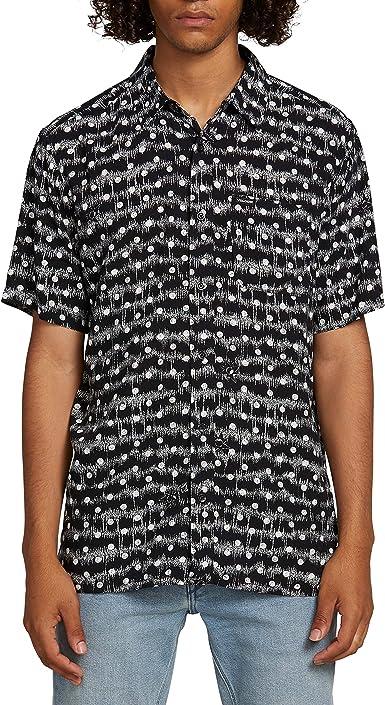 Volcom Mag Sketch - Camisa de manga corta para hombre