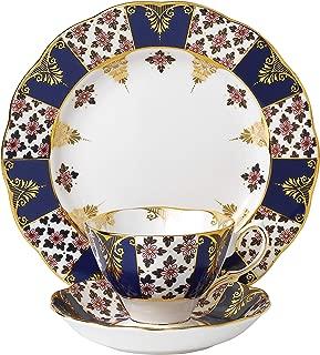 Royal Albert 3 Piece 100 Years 1900 Teacup, Saucer & Plate Set, 8