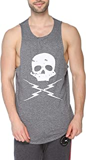 Colors & Blends - Men's Printed Cotton Tank Top